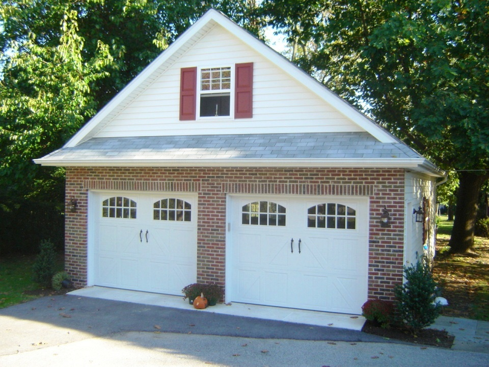 2 car garages garages by opdyke for How large is a 2 car garage