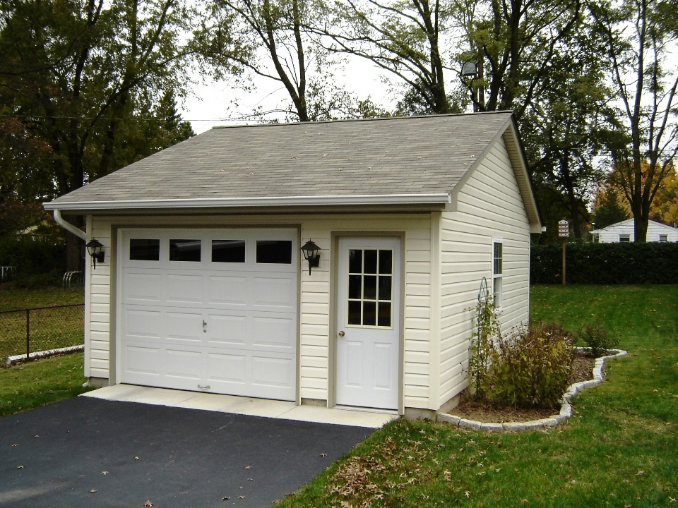 1 Car Garages Garages By Opdyke