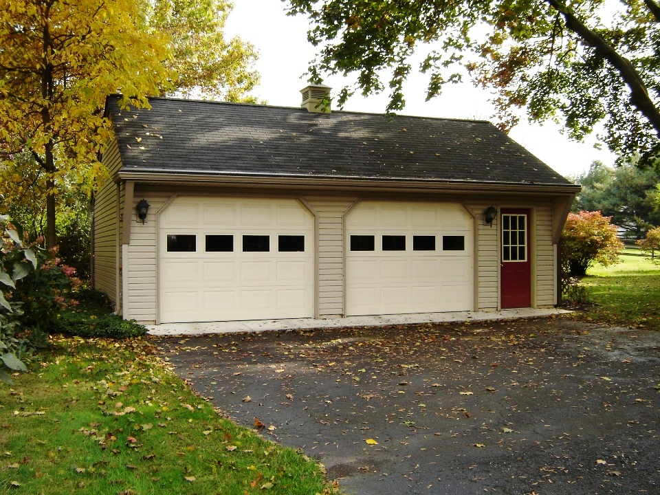 2 1 2 car or larger garages garages by opdyke for 2 5 car garage